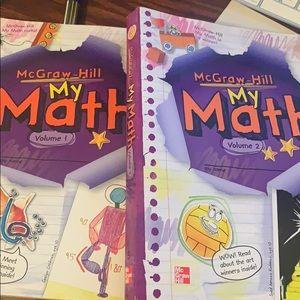My Math, Math Workbooks. Grade 5 CCLS ALIGNED